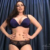 Goddess Alexandra Snow Belly Tease HD Video