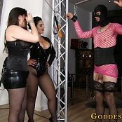 Goddess Alexandra Snow & Mistress Ezada Ball Bustin Intro HD Video