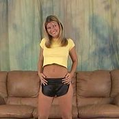 Halee Model Short Yellow Top & Short Black Shorts Video