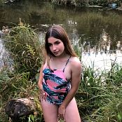 Mashas Models Sarah Struggles To Say In Her Swimsuit HD Video