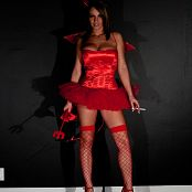 Nikki Sims Sexy Red Devil Halloween 2018 Picture Set