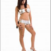 TeenModelingTV Mariah Silver Bikini Picture Set