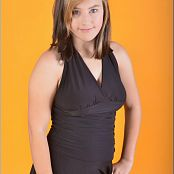 TeenModelingTV Christin Black Formal Picture Set