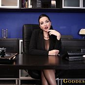 Goddess Alexandra Snow Company Loyality HD Video