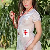 Angie Narango Nurse Outfit TCG Picture Set 003