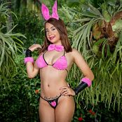 Azly Model Pink Rabbit Costume AZM Picture Set 004