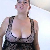 FloridaTeenModels Heather Rachel Alexis October 2014 DVD Disc 1 Alexis Black Polkadot Babydoll DVDR Video