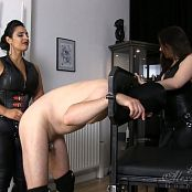 Goddess Alexandra Snow & Mistress Ezada Sinn Dirty Slut Double Fuck HD Video