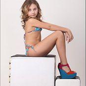 TeenModelingTV Alissa Blue Swimsuit Picture Set