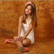 TeenModelingTV Alissa White Lace Dress Picture Set