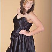 TeenModelingTV Christin Little Black Dress Picture Set