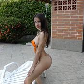 Britney MAzo Orange Body Paint TBS Bonus Level 1 HD Video 002