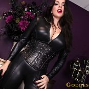 Goddess Alexandra Snow Leather Clad Worship HD Video