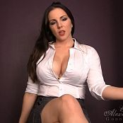 Goddess Alexandra Snow Natural Order HD Video