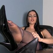 Goddess Alexandra Snow Sweaty Stockings Worship HD Video