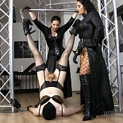 Goddess Alexandra Snow & Mistress Ezada Cum On Your Face HD Video