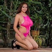 Jasmin Pink Bodysuit JTM Picture Set 056
