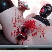 LatexBarbie Brutal Open Pussy Wax Torture Pain Slut Video