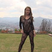 Mary Mendez Sheer Black Bodysuit TM4B HD Video 006