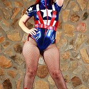 Sexy Pattycake Faptain America Picture Set