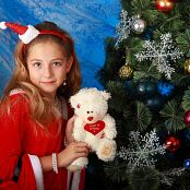 Silver Stars Alissa P Christmas Picture Set 003