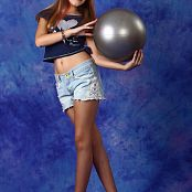 Silver Stars Alissa P Denim Shorts Picture Set 001