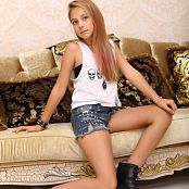 Silver Stars Alissa P Denim Shorts Picture Set 002