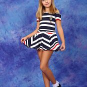 Silver Stars Alissa P Striped Dress Picture Set 001