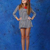 Silver Stars Alissa P Striped Dress Picture Set 002