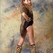 TeenModelingTV Alissa Lil Leopard Picture Set