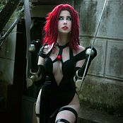 Giu Hellsing BloodRayne Picture Set