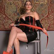 Goddess Alexandra Snow Mistress In Leather HD Video