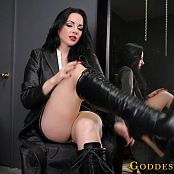 Goddess Alexandra Snow Tounge Polish HD Video