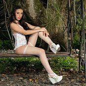 Natalia Marin White Lingerie TM4B Picture Set 011