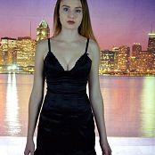 NewCityTeens Chelly Black Dress City Picture Set