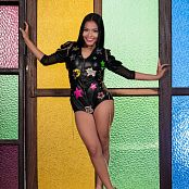 Susana Medina Black One Piece TM4B Picture Set 009
