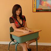 Sweet Krissy Naughty Schoolgirl Zipset 22 Picture Set & HD Video