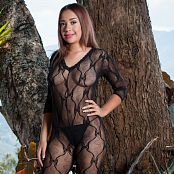 Azly Perez Black Bodysuit AZM Picture Set 028