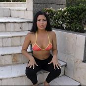 Glenda Dancing By The Pool TCG 4K UHD & HD Video 001