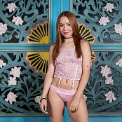 Mellany Mazo Pink Lingerie TBS PIcture Set 049