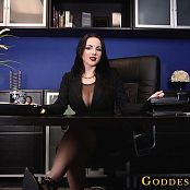 Goddess Alexandra Snow Blackmailed By The Boss HD Video