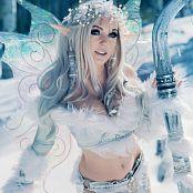 Jessica Nigri Winter Fairy Picture Set