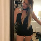 Kalee Carroll OnlyFans Happy New Year Black Dress HD Video