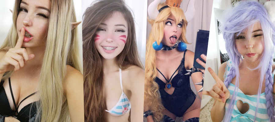 Belle Delphine Pictures & Videos Megapack