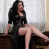 Goddess Alexandra Snow Adoring Slave Foot Worship HD Video