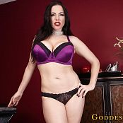 Goddess Alexandra Snow Happiness & Slavery HD Video