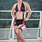 Luisa Henano Black Lingerie TCG Picture Set 004