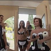 Sasha Grey Katja Kassin Lisa Ann Heather Starlet & Missy Stone Outnumbered 5 DVDR Video