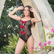 Dayana Medina Black Bodysuit TCG Picture Set 010