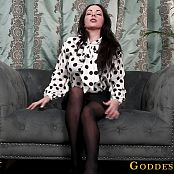 Goddess Alexandra Snow First Day of School JOI HD Video